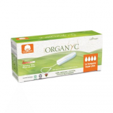 Tampons Super Plus sans applicateur Organyc, 16 pièces