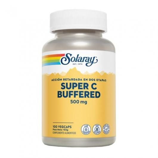 Super Bio C Buffered  Solaray, 100 capsule