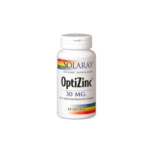 Optizinc e Vit. B6 Solaray, 60 capsule