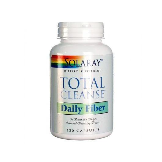 Total Cleanse Fiber Solaray, 120 cápsulas