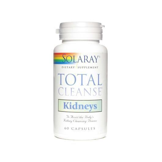 Total Cleanse Reins Solaray, 60 capsules