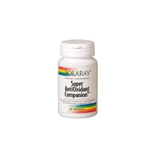 Superantioxidante Companion Solaray, 30 comprimidos
