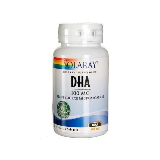 Dha Neuromins 100 mg Solaray, 30 perlas