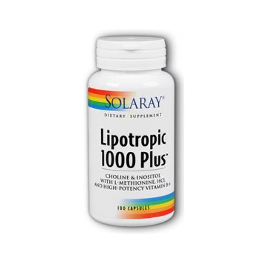 Lipotropic 1000 Plus Solaray, 100 capsules