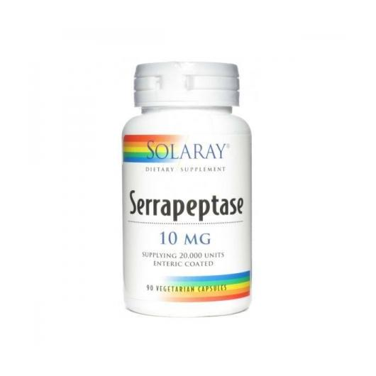 Serrapeptase 10 mg Solaray, 90 capsules