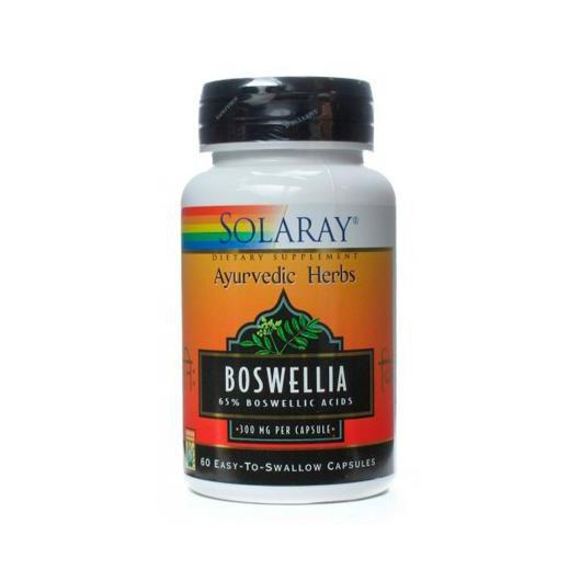 Boswelia 300 mg Solaray, 60 capsule