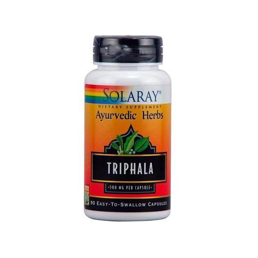 Triphala 500 mg Solaray, 90 capsule
