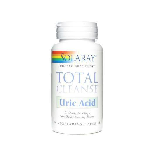 Total Cleanse Acide urique Solaray, 60 capsules