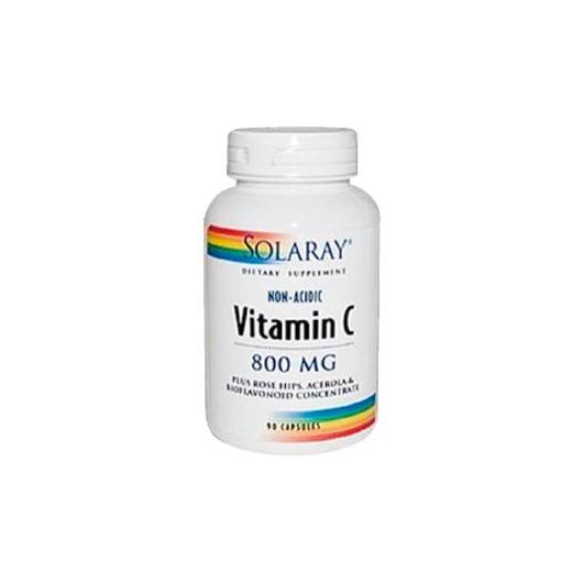 Nonacid vitamina C Crystalline, Solaray