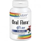 Oral Flora Solaray, 30 gommes