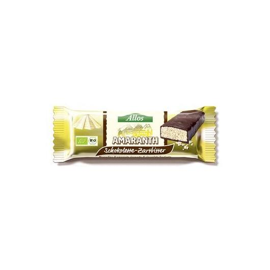 Barrinha amaranto chocolate Allos, 25 g