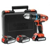 Taladro percutor 14.4 V Li Black & Decker