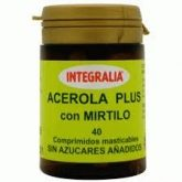 Acerola con Mirtilo Plus Integralia, 40 comprimidos