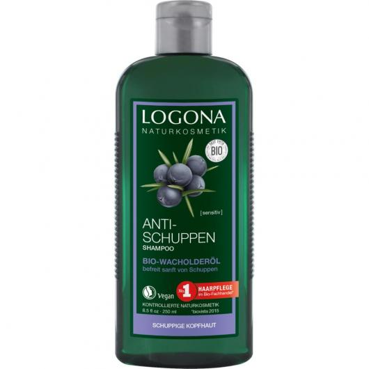 Shampoo antifforfora Enebro Logona, 250 ml