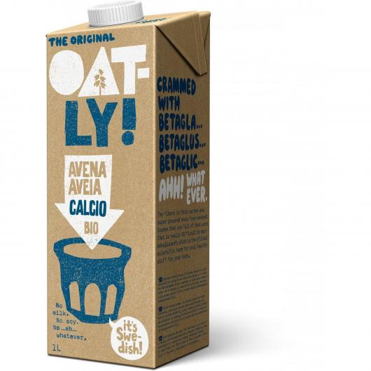 Boisson avoine calcium Oatly Bio