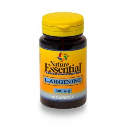 L-Arginina 500 mg  Nature Essential, 50 Capsule