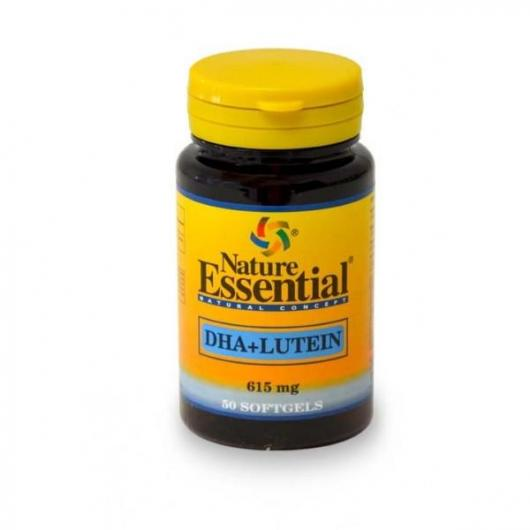 Dha + Luteina 615 Mg Nature Essential, 50 Perlas