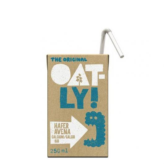 Bebida Avena Calcio Oatly BIO, 250 ml