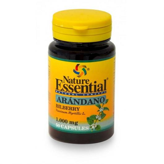Arandano 1000 mg Nature Essential, 50 capsule