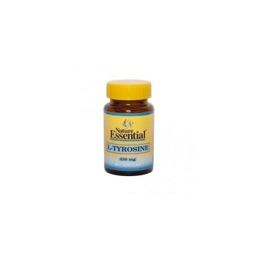 L-Tirosina 450 mg Nature Essential, 50 cápsulas