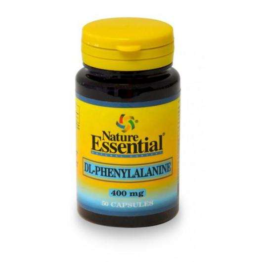 DL-Fenilalanina  400 mg Nature Essential, 50 cápsulas