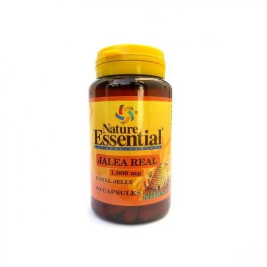 Jalea Real 1000 mg Nature Essential, 60 cápsulas