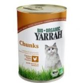 Yarrah tinned chicken bits for cats 400g