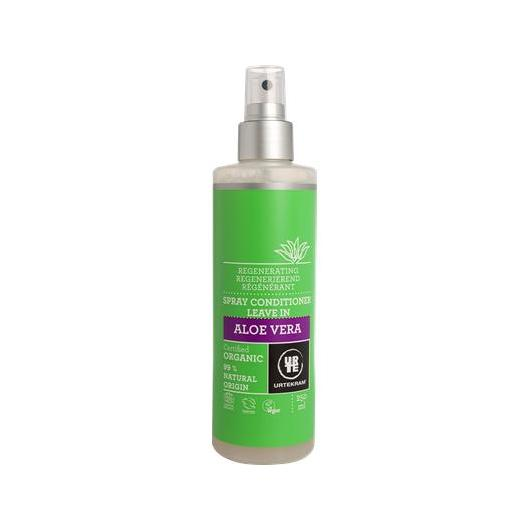 Acondicionador Spray Aloe Vera Urtekram, 250 ml