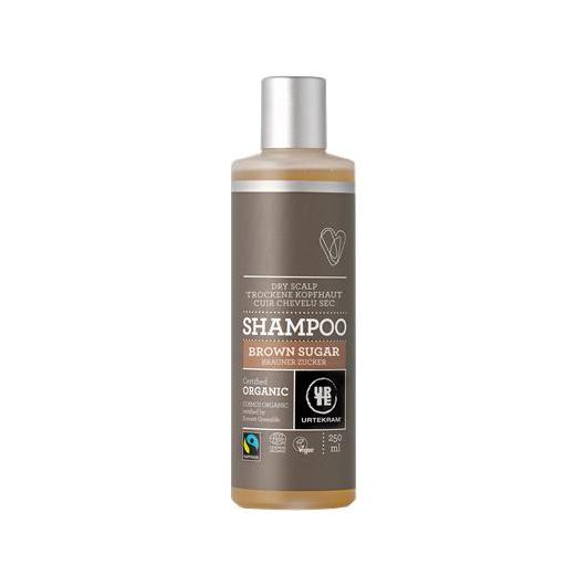 Shampoo Brown sugar fair trade Urtekram, 250 ml