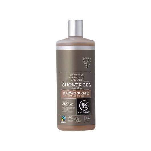 Gel da bagno Brown sugar Urtekram, 500 ml
