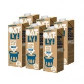 OATLY organic oat drink with calcium pack of 6x1ltr