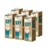 Lait d'Avoine Original Oatly Bio pack de 6 unités de 1L
