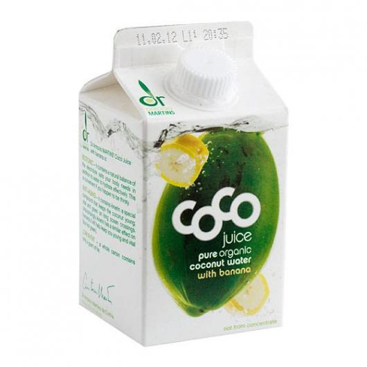 Jugo de Coco y Banana Vegetalia, 500 ml
