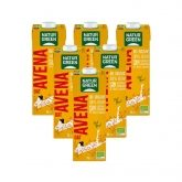NaturGreen oat drink with calcium pack 6ltr