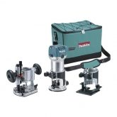 Fresatrice multifunzione Makita RT0700CX2 710 W 6 y 8 mm