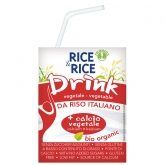 Bebida BIO arroz y calcio Rice & Rice, 200 ml