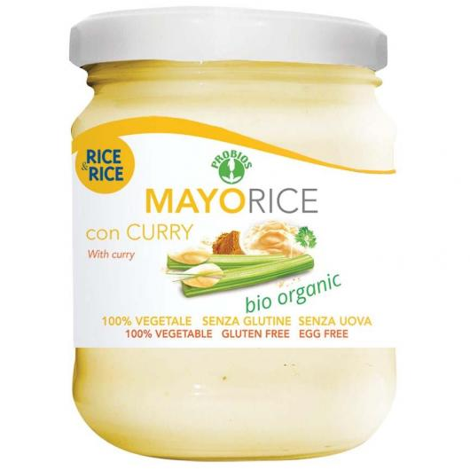 Mayorice Sauce à base de Riz au curry BIO Rice & Rice, 165 g