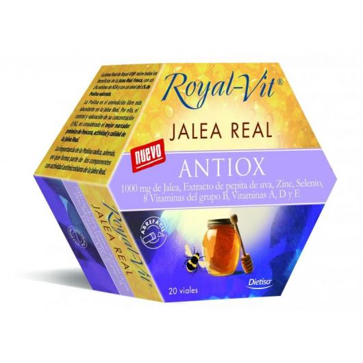 Jalea Real Royal Vit Antiox, 20 viales