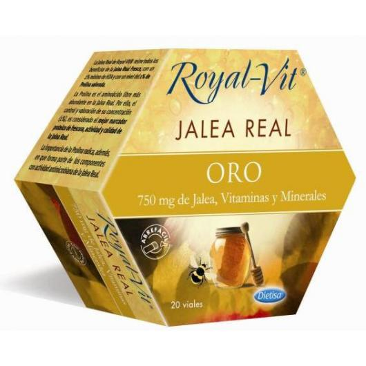Pappa Reale Royal Vit Oro, 20 fiale