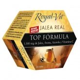 Jalea Real Royal Vit Top Fórmula, 20 viales