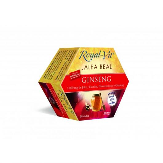 Pappa Reale Royal Vit Top Ginseng, 20 fiale