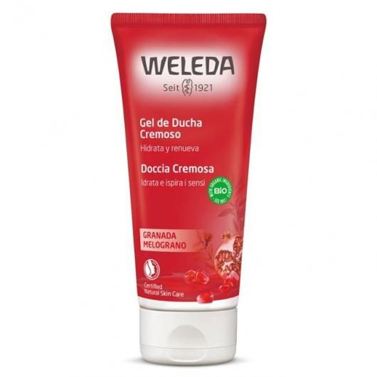 Gel douche à la grenade Weleda, 200 ml