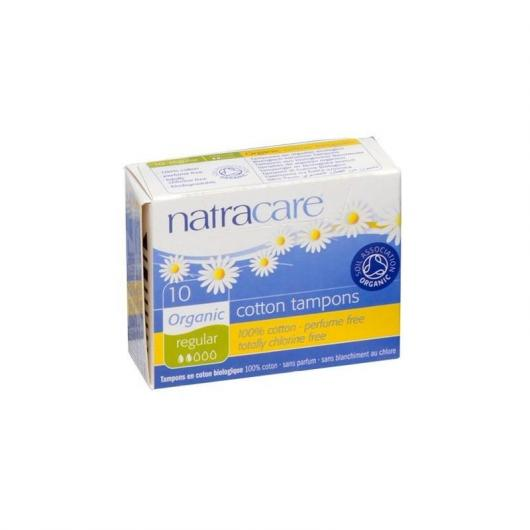 Tampon Classic Sans applicateur Bio Natracare 10 unités