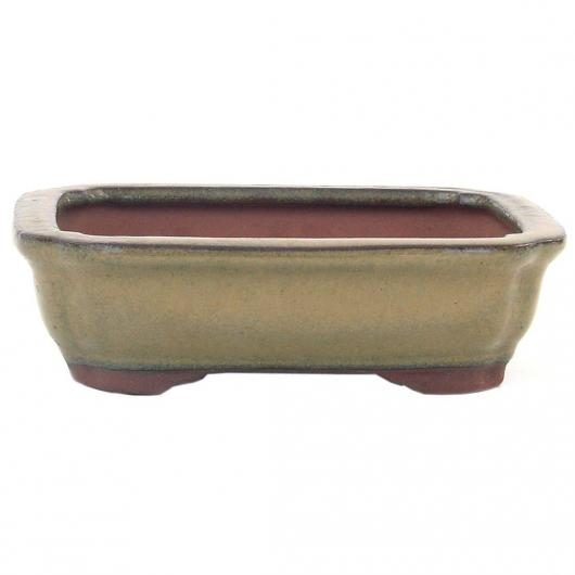Pot Rectangulaire Beige 30 cm
