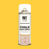 Pintura a la tiza / Chalk paint en Spray - Amarillo Melocotón, 400 ml