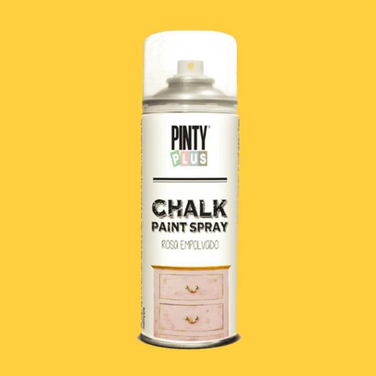 Vernice gesso Chalk Paint spray - Giallo pesca, 400 ml