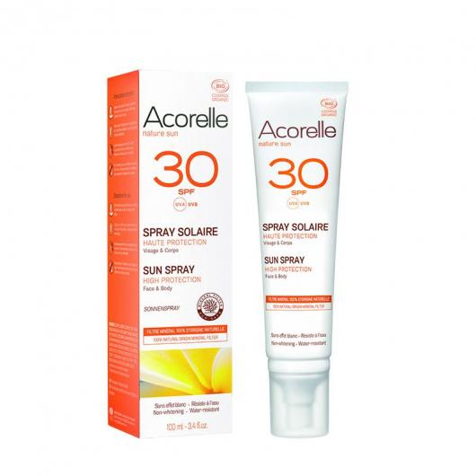 Spray solar SPF30 Acorelle 100ml