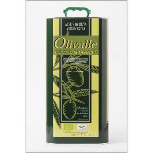 Huile d'Olive Vierge Extra Bio Olivalle