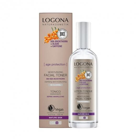 Tónico Facial Age protection Logona, 150ml