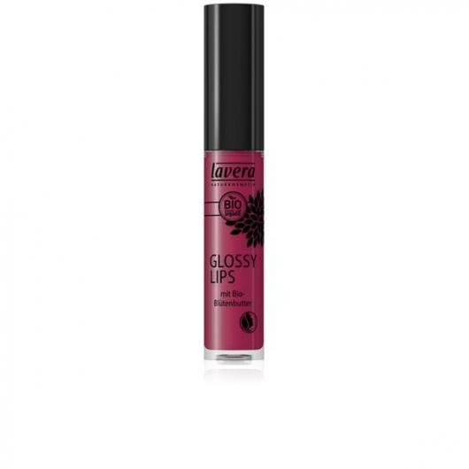 Brillo labios glossy - Berry Passion 06 - Lavera 6,5 ml